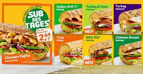 Subway Sandwiches auf Deutsch bestellen